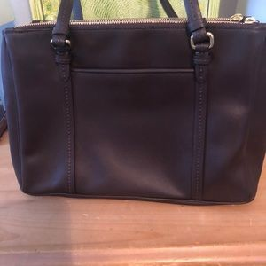 Coach Bags - NEW Coach brown leather purse